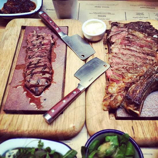 Steak.  photo