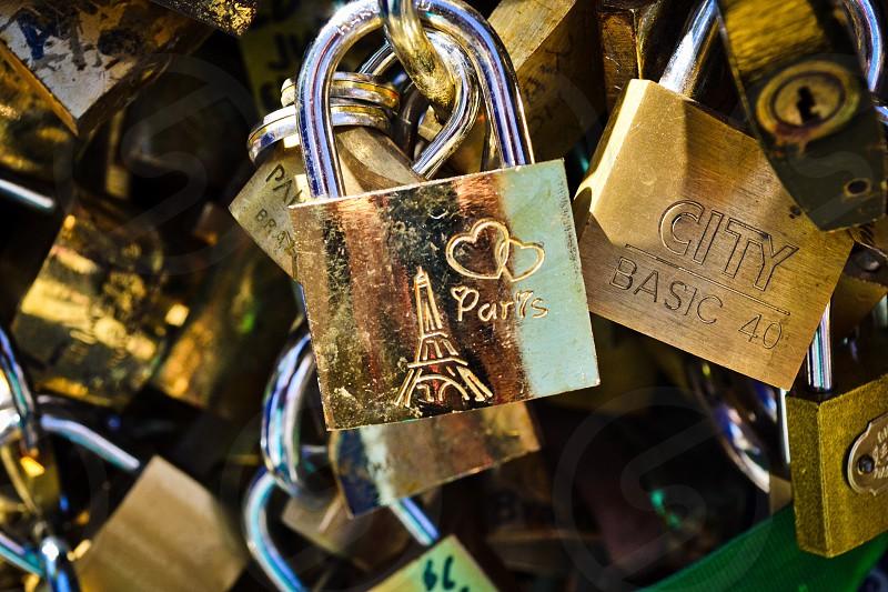 Paris Locked in Love photo