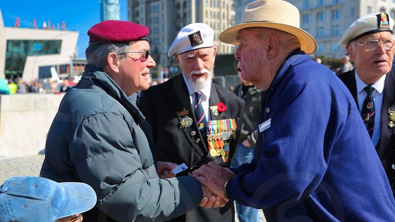 Tribute to WW2 British veterans photo
