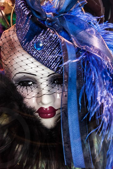 Mannequin on Display in a Shop Window photo