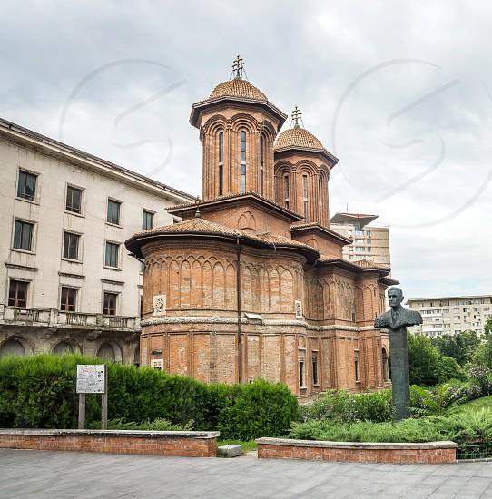 BUCHAREST ROMANIA - 07.21.2018. Kretzulescu Church in the old town area in Bucuresti Romania. photo