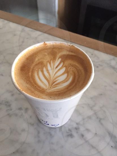Coffee cappuccino Java warm  photo
