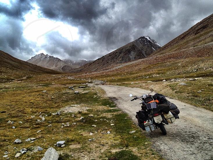 Himalaya motorcycle adventure Royal Enfield photo