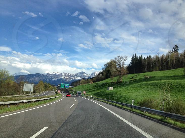 Roadtravelswitzerlandeuropecarrental carwaytransportation photo