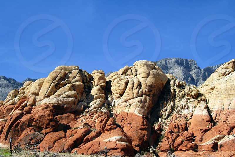 white and brown rock photo