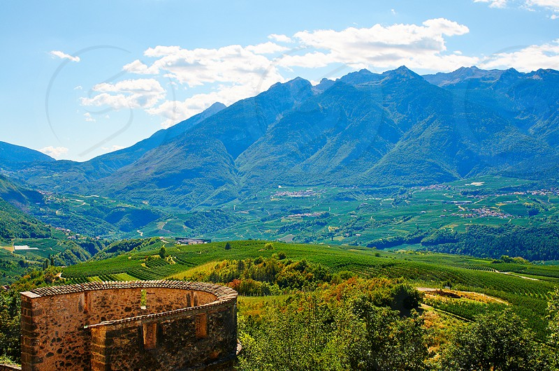 Italy Valley Ruins photo