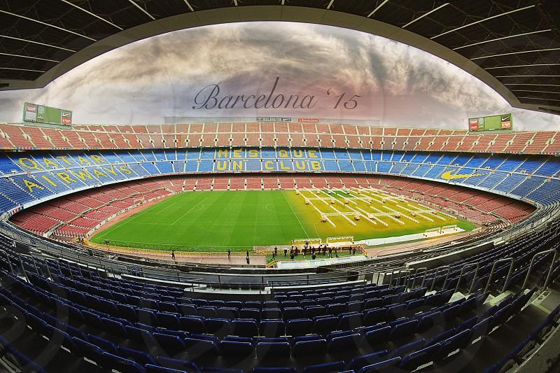 camp nou stadium of Barcelona photo