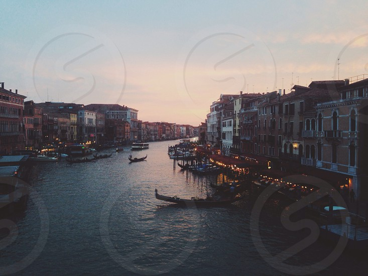 photo of Venice Grand Canal photo