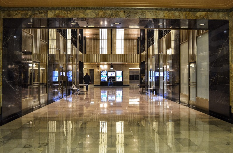 Lobby of the Chicago Board of Trade Building photo