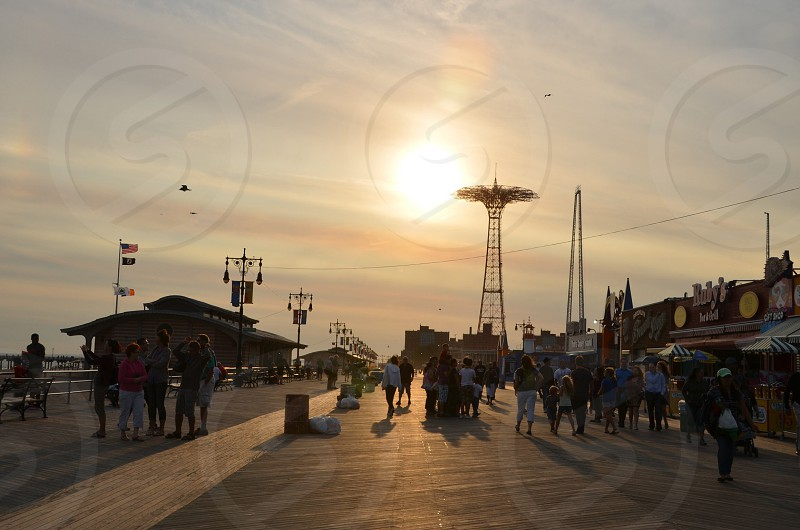 Lucky afternoon. Coney Island NYC photo