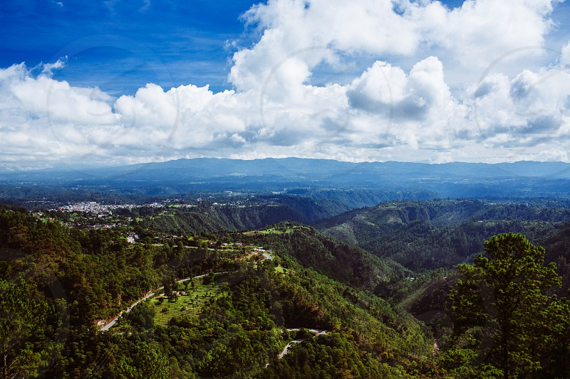 Overlooking Chichicastenango Guatemala photo