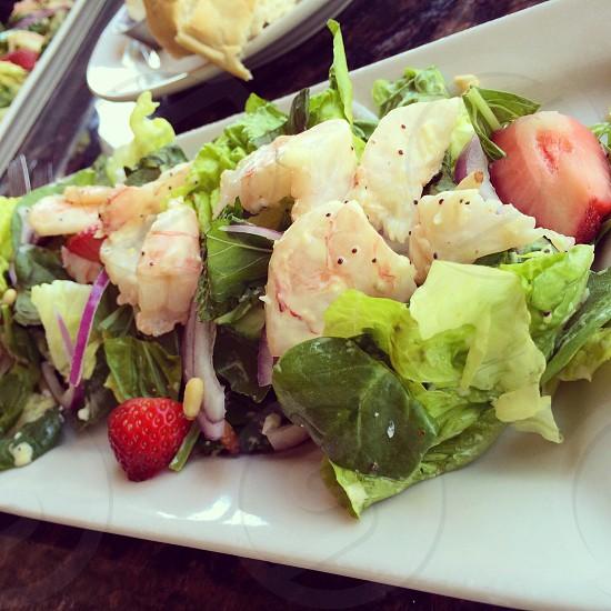 Shrimp and Strawberry Salad  photo