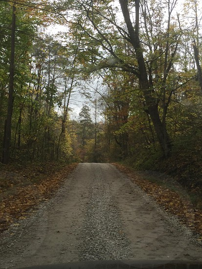 West Virginia Country Gravel Backroad photo