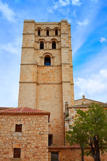 Zamora Cathedral in Spain by Via de la Plata way to Santiago photo