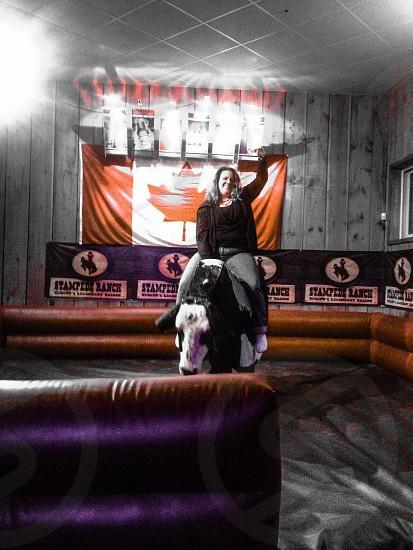Riding the Mechanical Bull photo