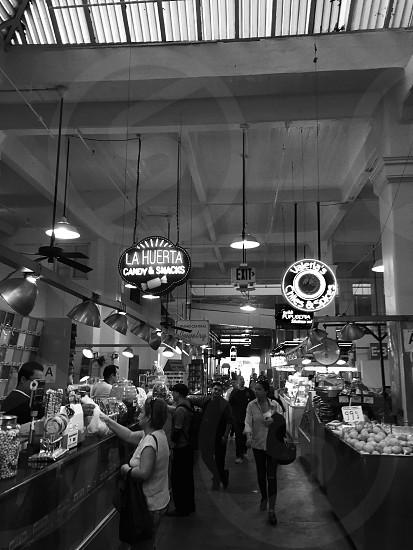 Grand Central Market. Downtown LA. photo