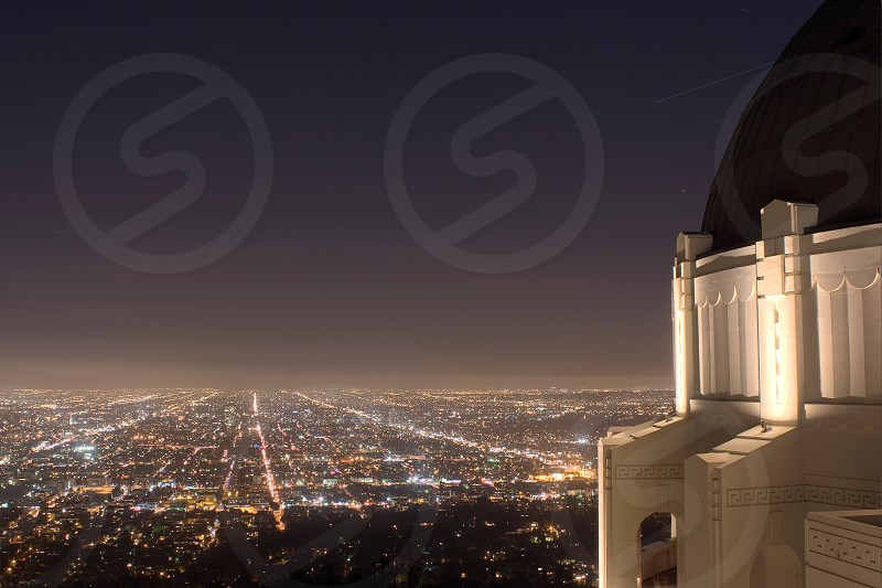 Downtown LA from Griffith Park. photo