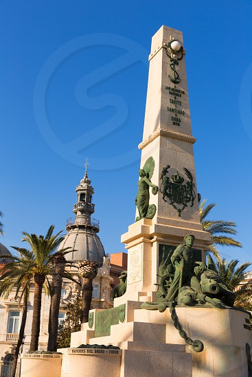 Cartagena Murcia Cavite heroes park memorial in Spain photo