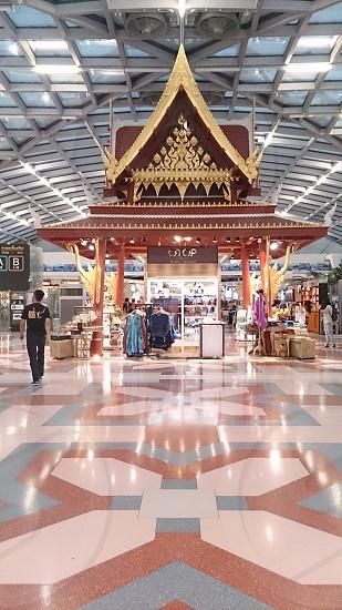 Inside Thailand Airport photo