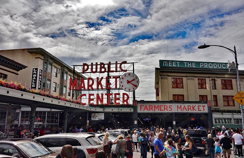 Pike Place Public market Seattle photo