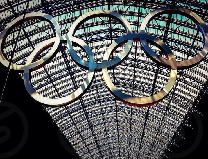 Olympic Rings London photo
