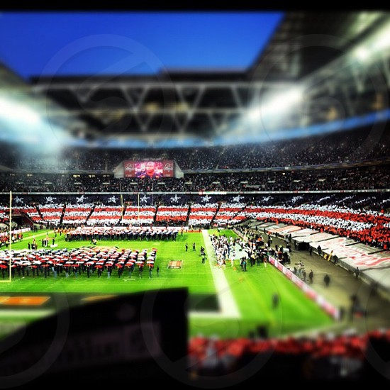 The #nfl game at #Wembley in #London between the #bears and #bucs photo