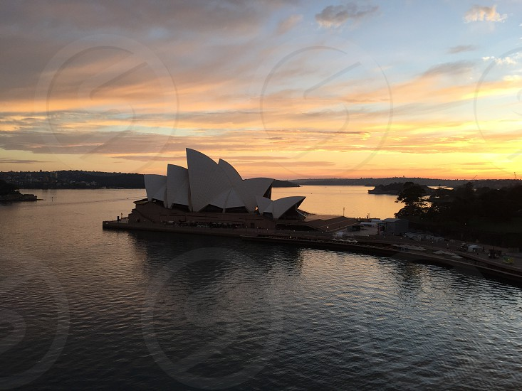 Sunrise - Sydney Opera House photo
