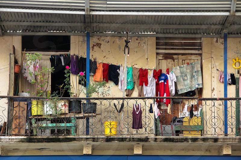 Laundry Day Panama City Panama photo