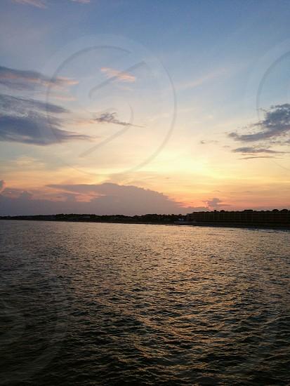 Summer Evening on the pier.... photo