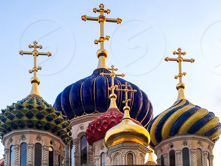 The church of the Holy Transfiguration of Our Lord Jesus Christ. Odintsovo Russia. photo