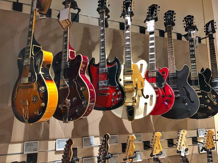 collection guitars photo