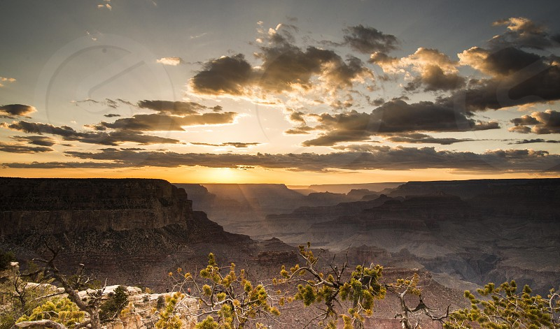 Grand Canyon sunset photo