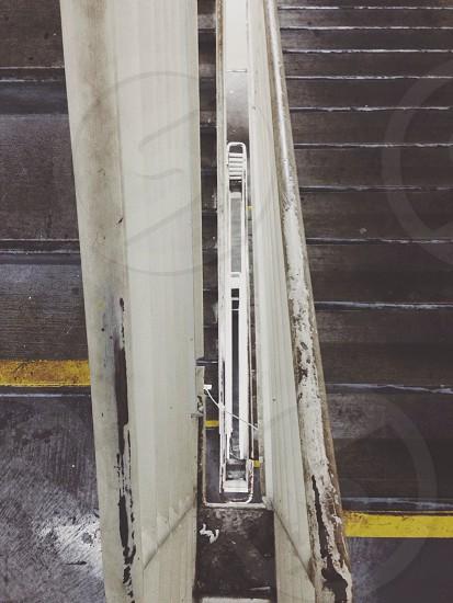 aluminun folding ladder photo