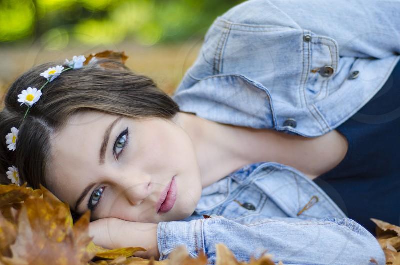 Beautiful shot of Jana  a model from Australia photo