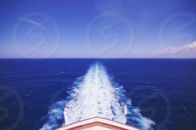 Blue Skies. Open Water! photo