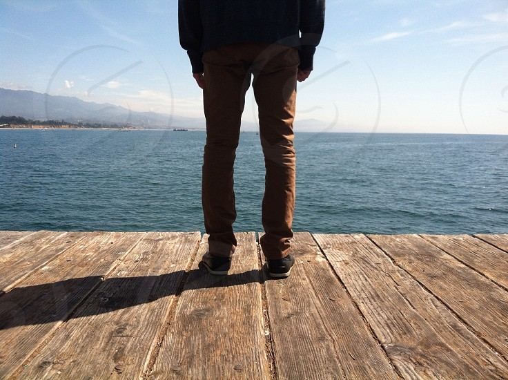 man standing  photo