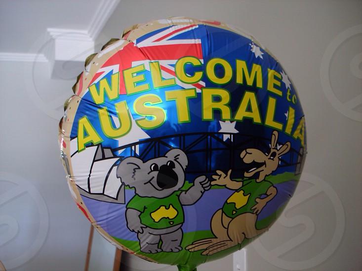 Welcome balloon  photo