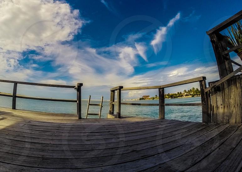Ladder to paradise. photo