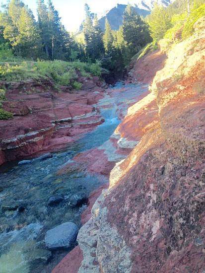 Redrock canyon  photo