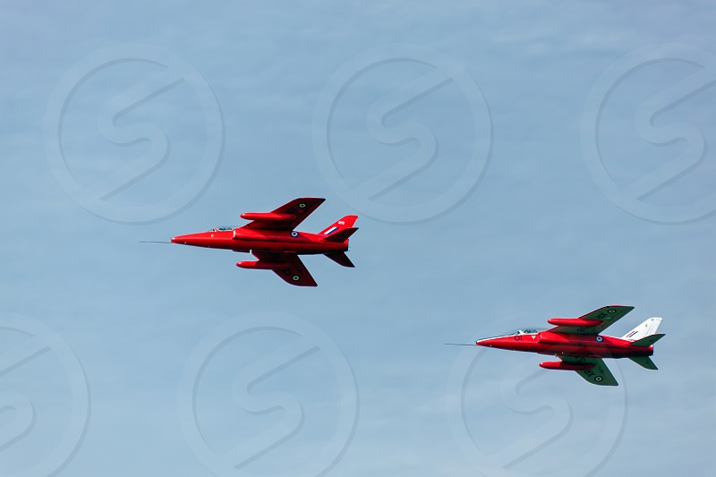 Folland Gnats at Shoreham Airshow photo
