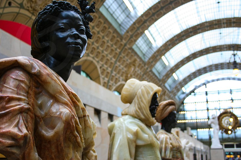 Musee D'Orsay in Paris FR  photo