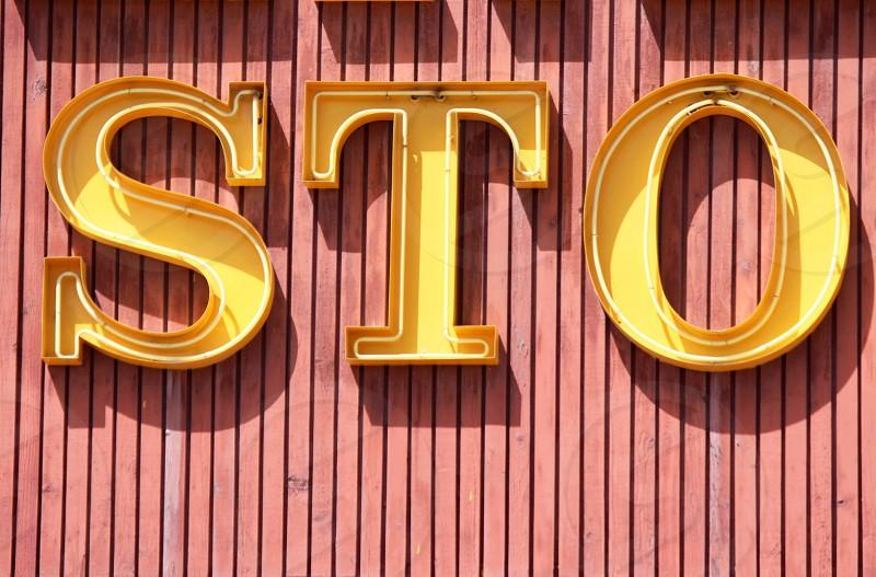 S.T.O. signage photo
