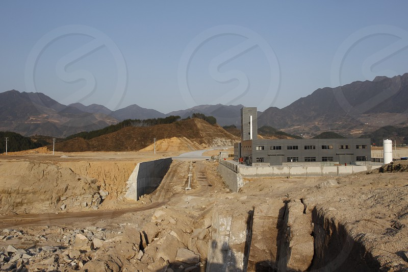 New plant in Suichang,Zhejiang Province,China. photo