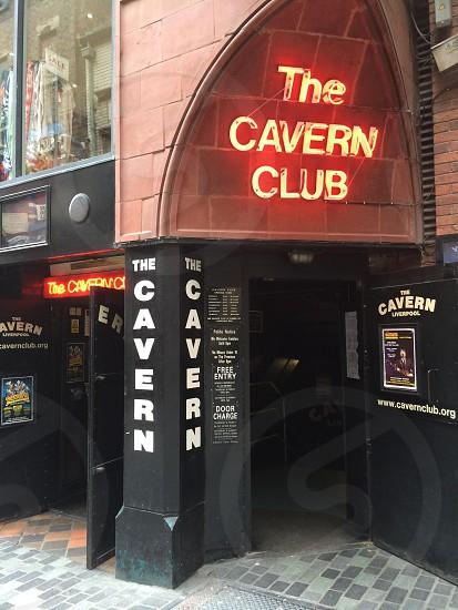 Door of the Cavern Club in Liverpool photo