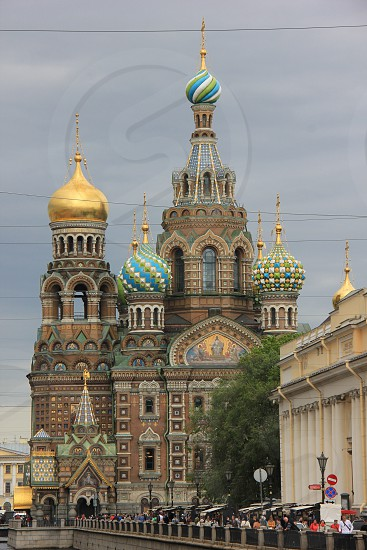 Church of the Savior on Blood St.Petersburg 2015 photo