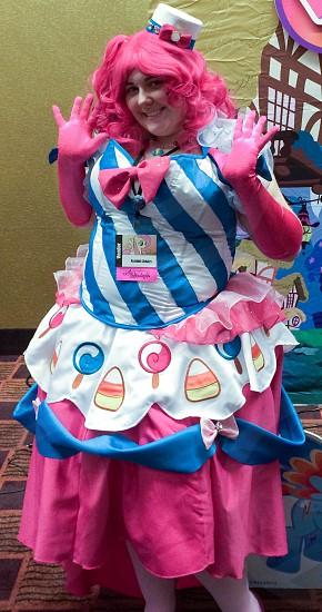 Pinkie pie cosplay photo