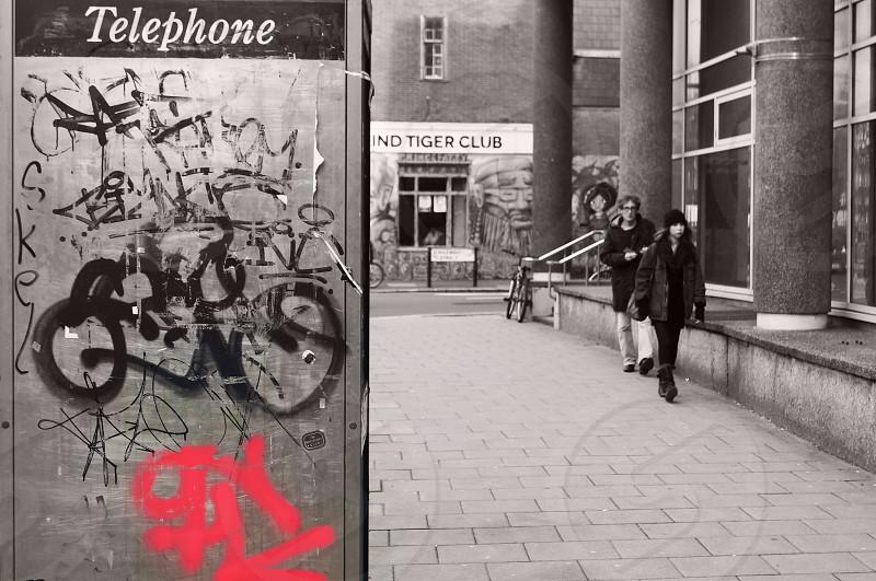 Colour splash graffiti  photo