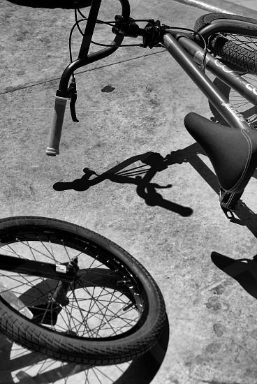 Bike shadows photo