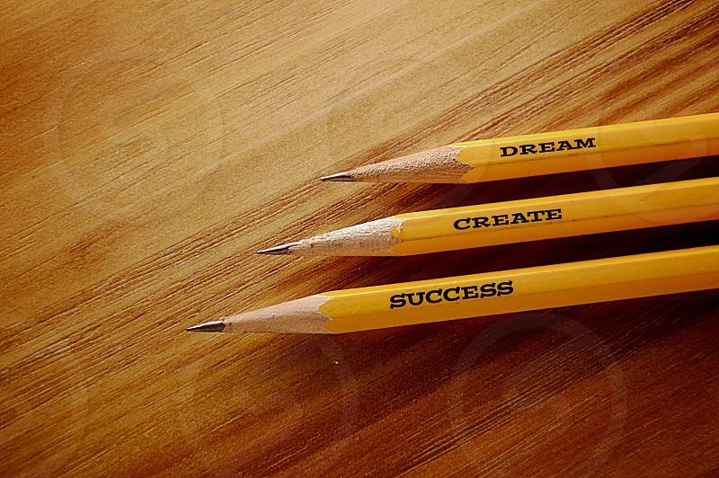Inspiration Success Dream Create Pencils School Positive  photo
