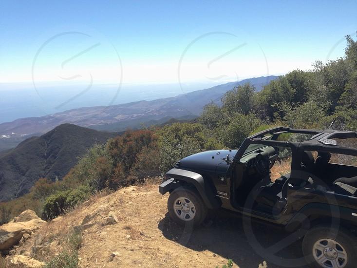 black jeep car  photo
